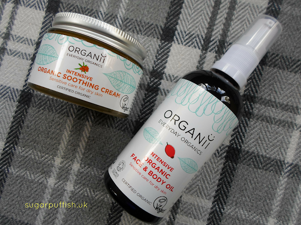 Review: Organii Intensive Organic Soothing Cream & Face and Body Oil
