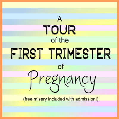 A Tour of the First Trimester of Pregnancy -- the first three months are a miracle... but they're also pretty miserable  {posted @ Unremarkable Files}