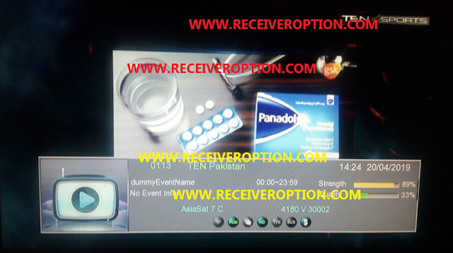ECHOLENK E-8000 HD RECEIVER POWERVU KEY NEW SOFTWARE