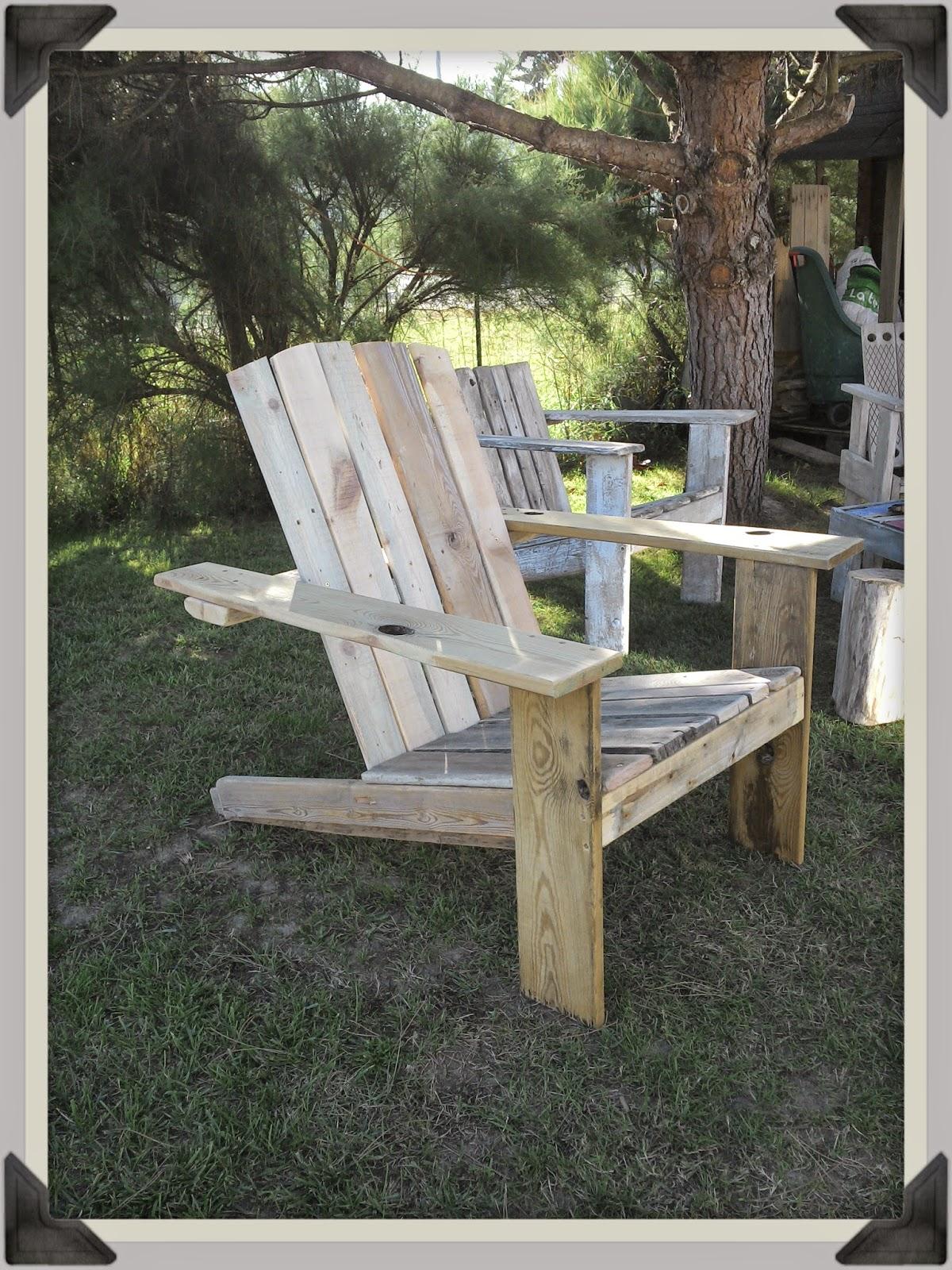 mutoz inc art en bois flott fauteuil en bois flott et r cup ration br tirondack 4. Black Bedroom Furniture Sets. Home Design Ideas