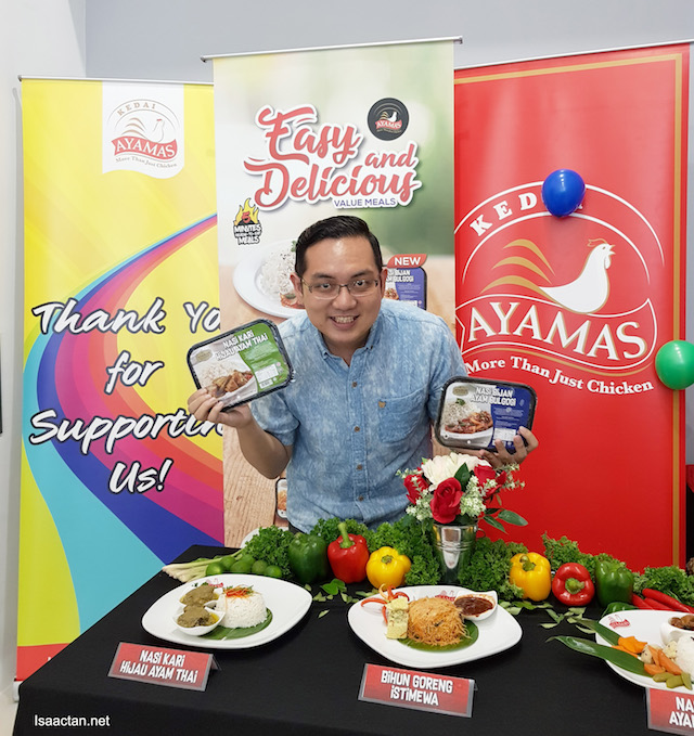 New RTE 'Ready-To-Eat' Flavours From Ayamas Kitchen
