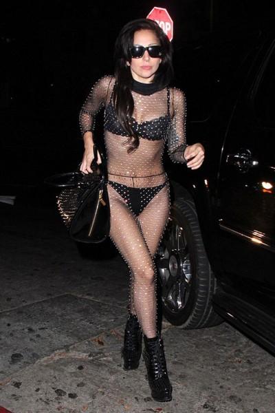 Vou de lingerie: Lady Gaga exagerou?