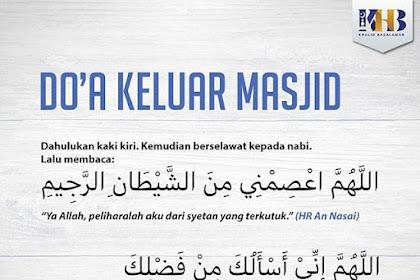 Doa Keluar Masjid Sesuai Sunnah