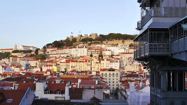 Castelo de Sao Jorge, Elevador de Santa Justa