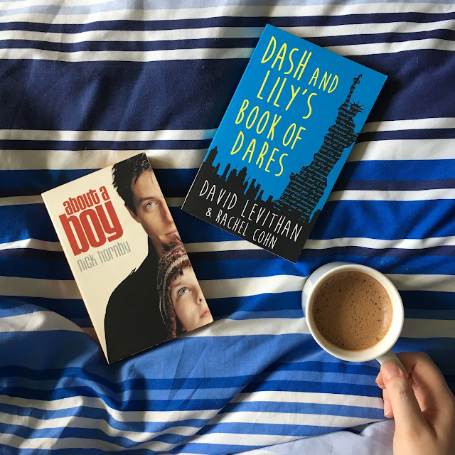 about a boy dash and lily book club bloggers bookshelf