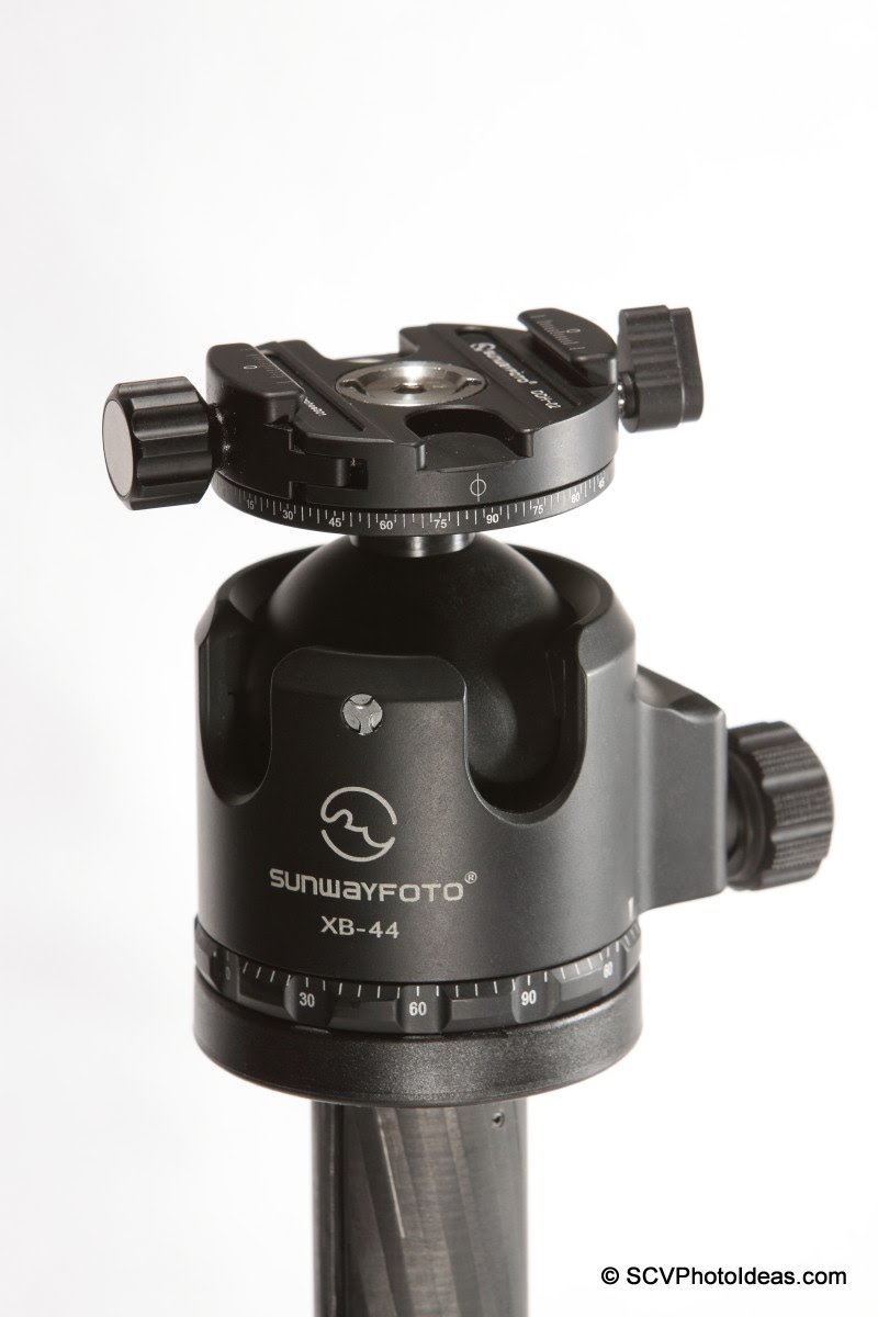 Sunwayfoto DDH-02 on Sunwayfoto XB-44 LP ball head