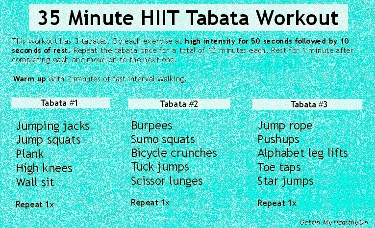 Smith and Blessings: Work It Wednesday: HIIT Workout Roundup