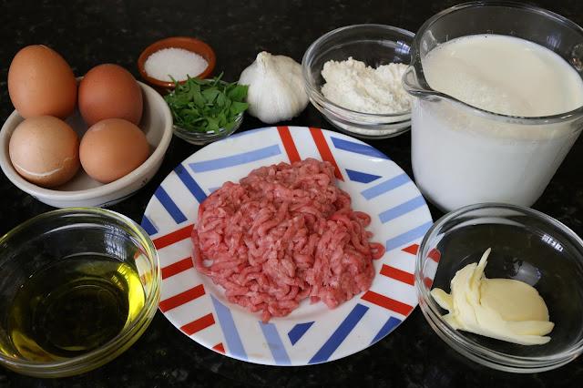 Ingredientes para huevos a la mimosa