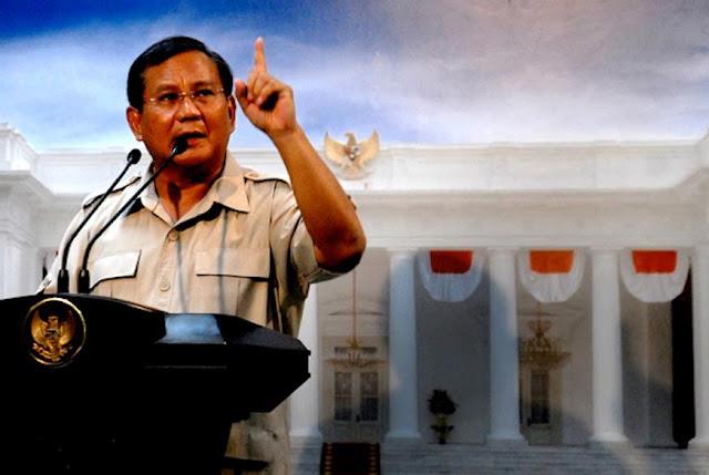 """Prabowo: Stasiun Teve """"M"""" Banyak Bohongnya…"""