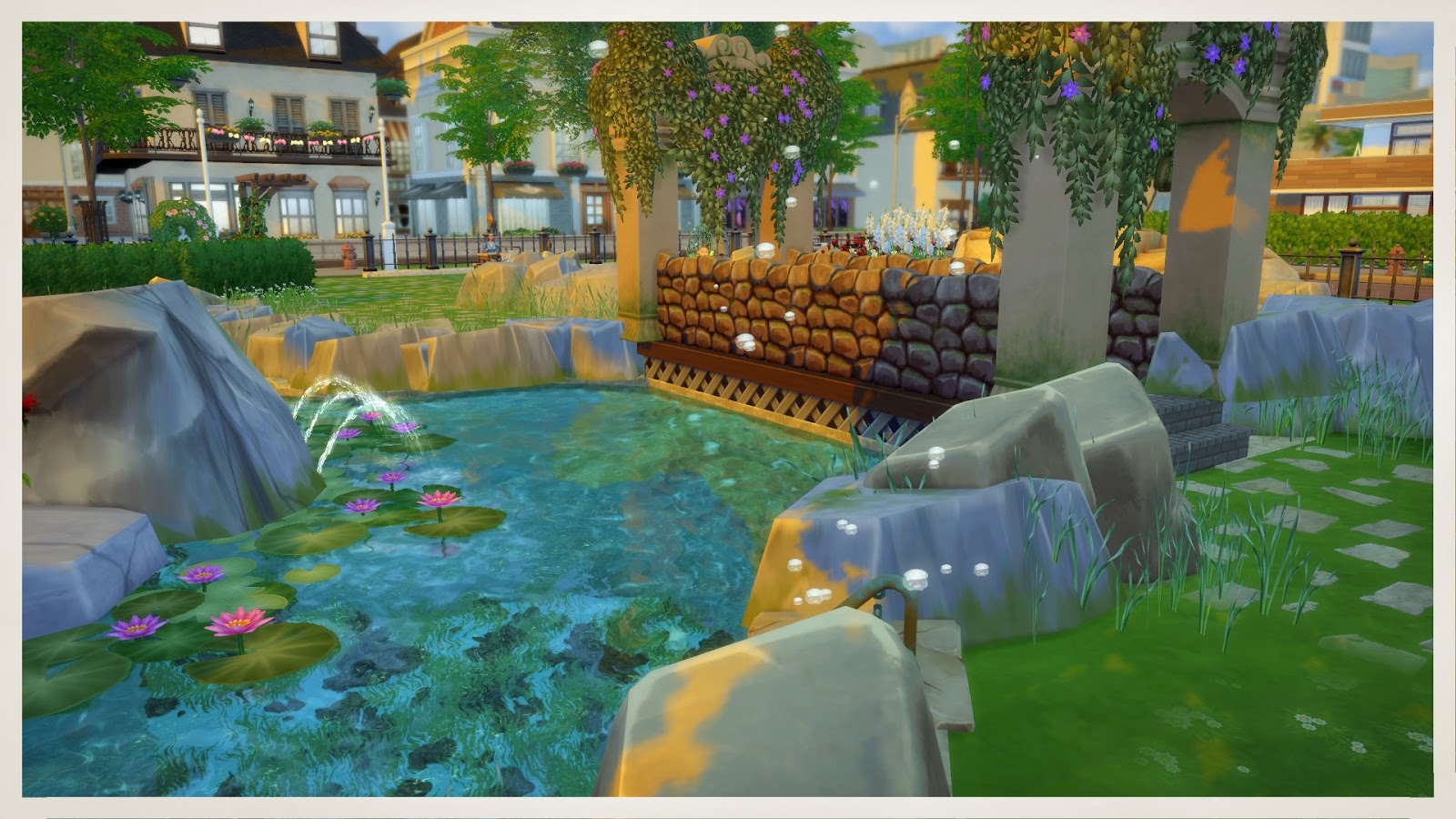 Sims 4 garden center lot mods for download dinha for Indoor gardening sims 4