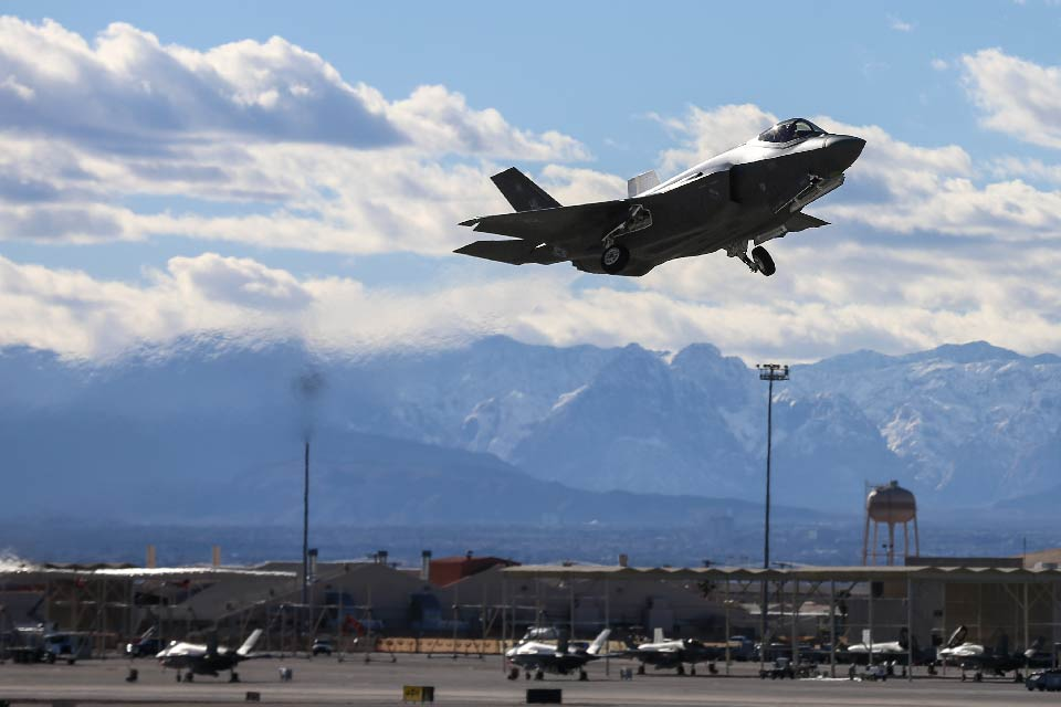 MAJOR ROLE FOR RAF TYPHOONS AT US EXERCISE RED FLAG 2017
