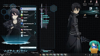 Download Tema Sword Art Online Untuk Windows 7
