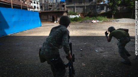 PHILIPPINES LAUNCHES AIR STRIKES IN BID TO RETAKE ISIS-OCCUPIED CITY