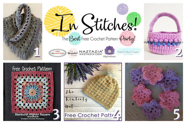In Stitches Best Free Crochet Patterns Link Up Party Week 4