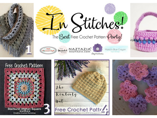 In Stitches - Best Free Crochet Patterns Link Up Party Week 4