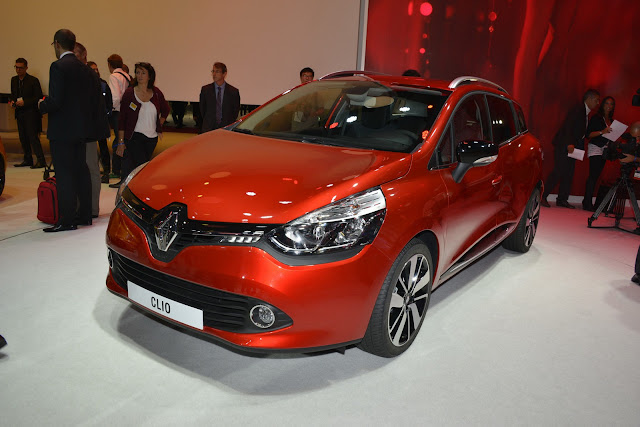 2013 Renault Clio Estate At 2012 Paris