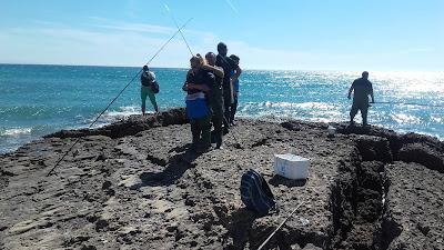 Pescar a boya en El Palmar