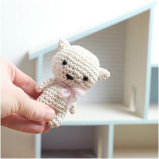 patron amigurumi gato mini inart