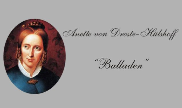 Balladen v, Droste Hülshoff