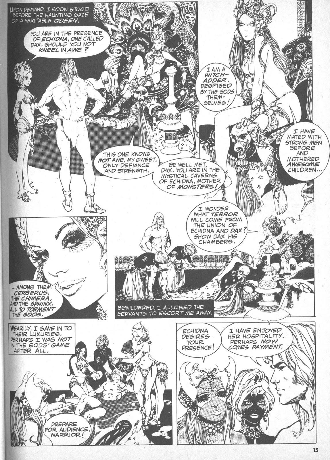 The PorPor Books Blog: SF and Fantasy Books 1968 - 1988: Dax the
