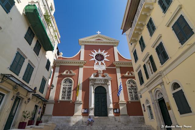Catedral o Panagia Spiliotissa - Corfu por El Guisante Verde Project