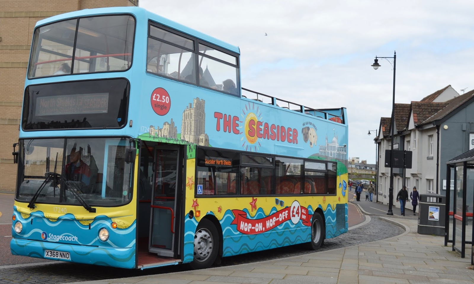 The Best Family Days Out in North East England  - The Seasider Open Top Bus Top