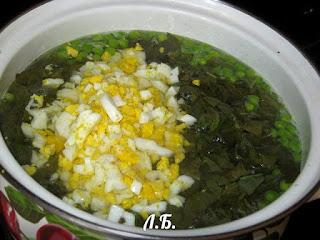 как варить суп со щавлем