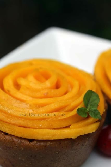 Mango Custard Cups