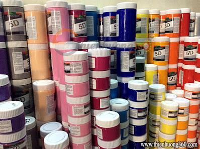 Màu Acrylic 300ml: Màu vẽ tranh tường cao cấp
