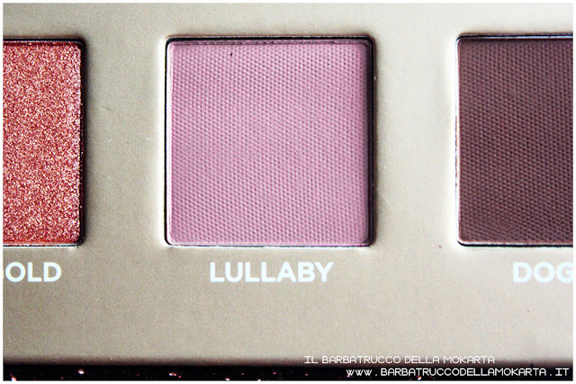 lullaby dreamy eyeshadow palette nabla cosmetics ombretti