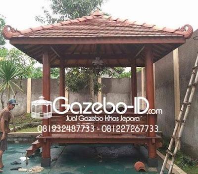 Gazebo Minimalis Glugu Jepara