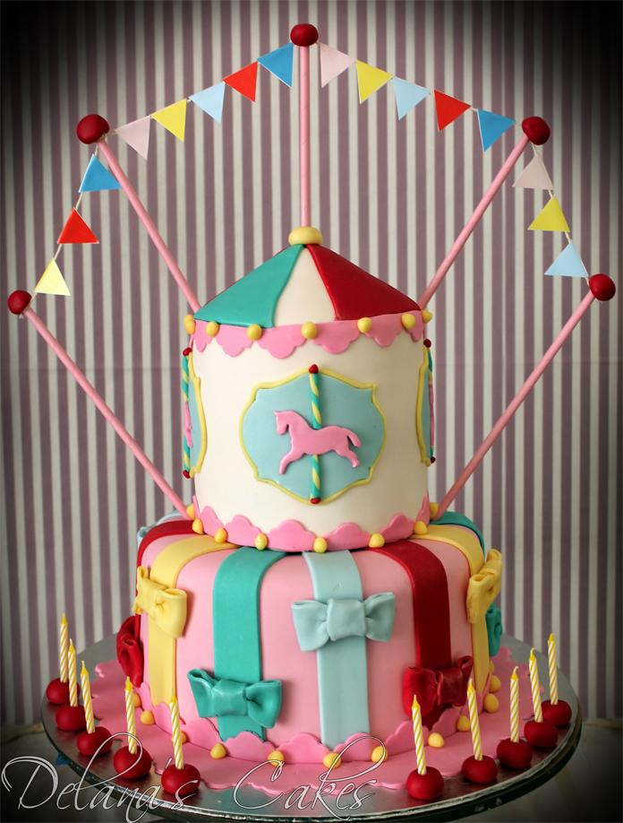 Delana S Cakes Carnival Cake