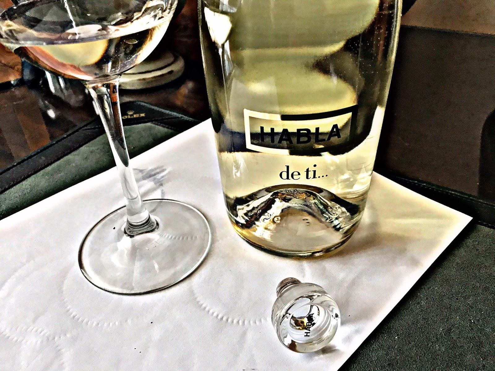 El alma del vino bodegas habla habla de ti blanco for Habla de ti blanco precio