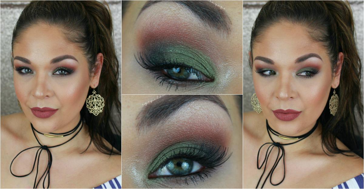 Agape Love Designs Green Smokey Eye Full Face Makeup Tutorial