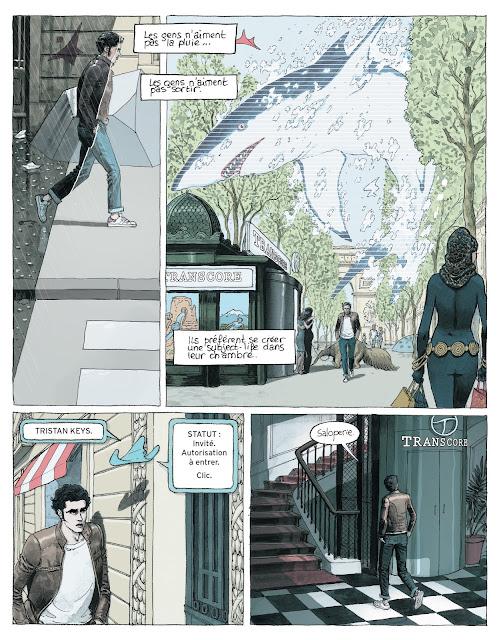 Paris 2119 de Zep et D.Bertail aux editions Rue de Sèvres page 5