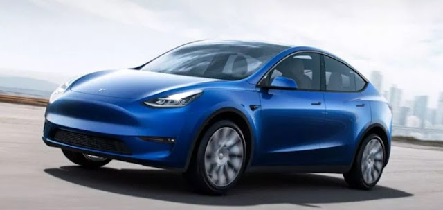 2020 Tesla Model Y Crossover SUV Seven Seater Reviews