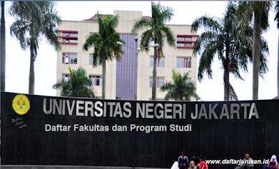 Daftar Fakultas dan Jurusan UNJ Universitas Negeri Jakarta Terbaru