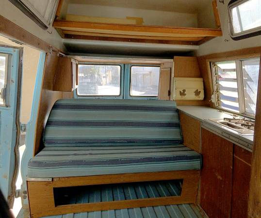 Used RVs 1968 Dodge A108 Highroof Camper Van For Sale by Owner