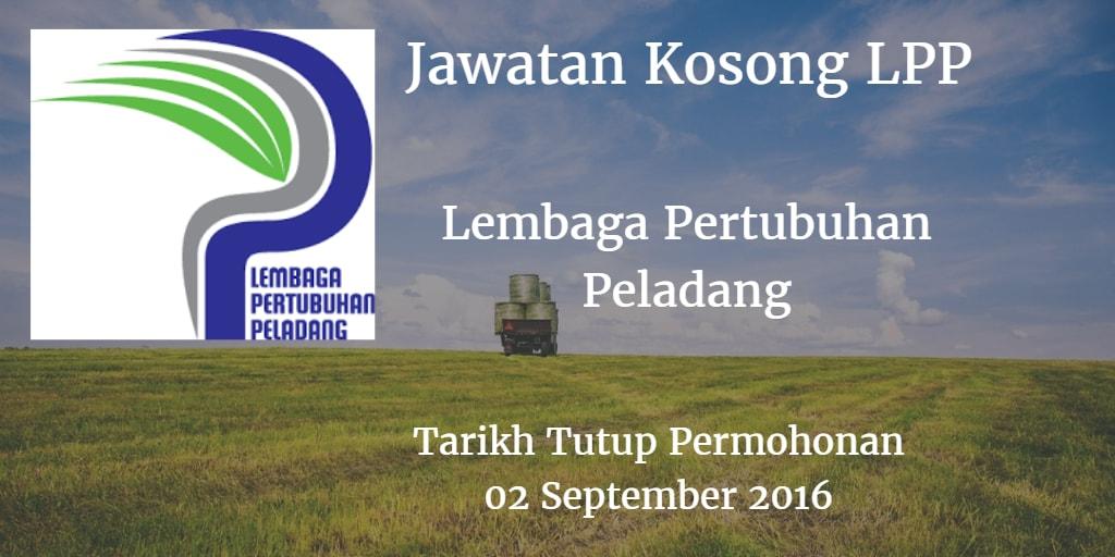 Jawatan Kosong LPP 02 September 2016