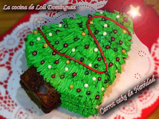 Carrot Cake De Navidad (tarta De Zanahoria Y Nueces)