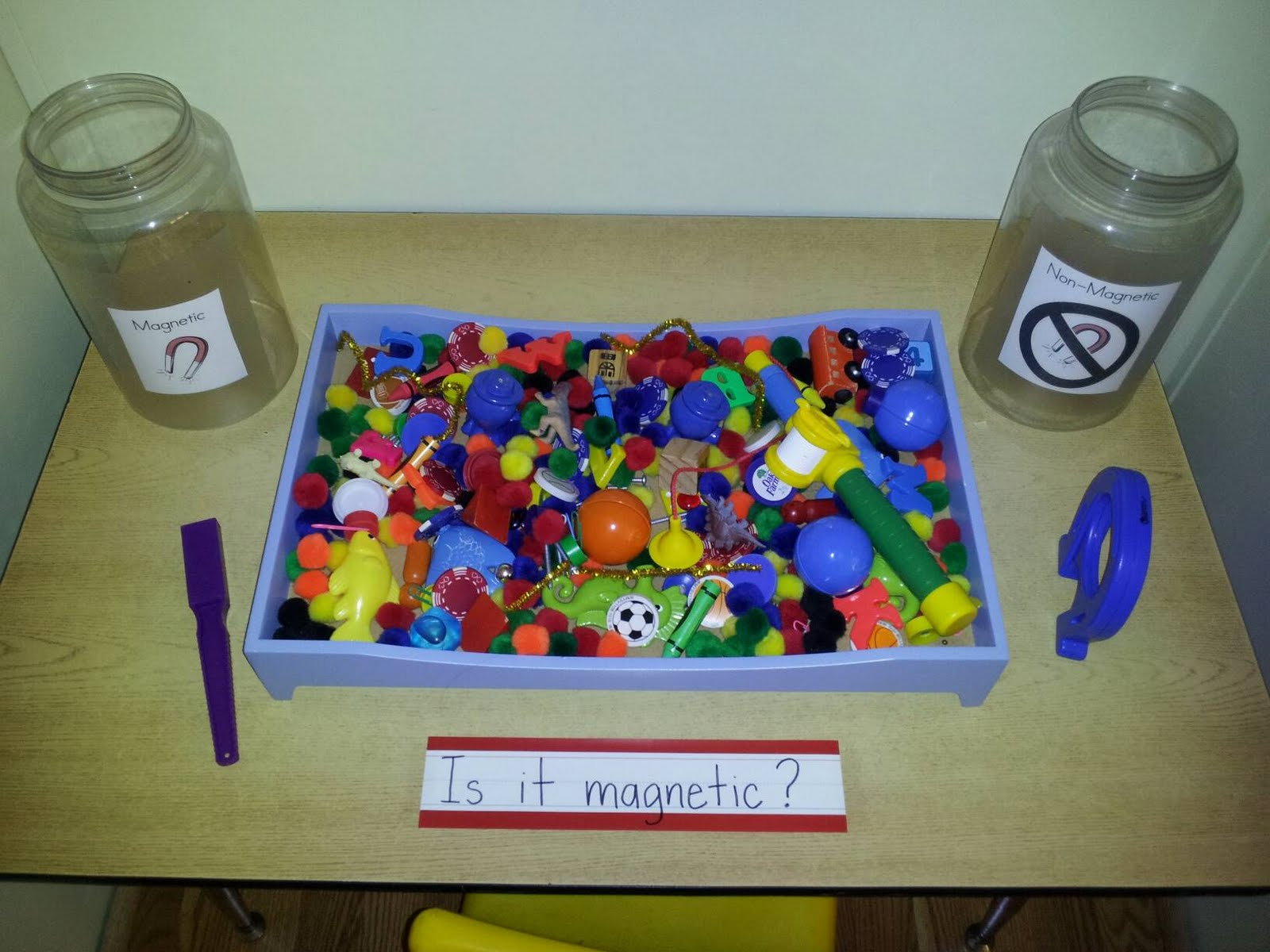 Chalk Talk A Kindergarten Blog A Magnetic Attraction