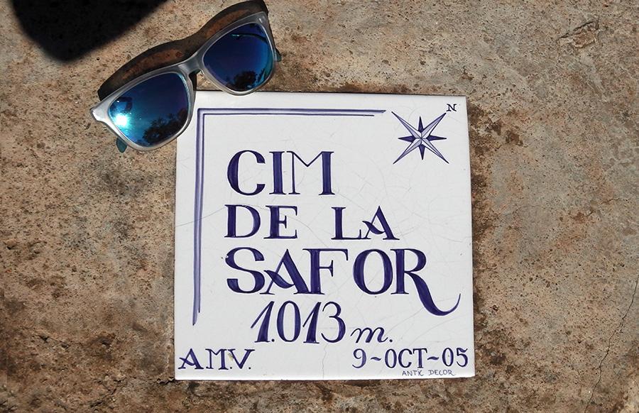 Cima de La Safor, 1013 m