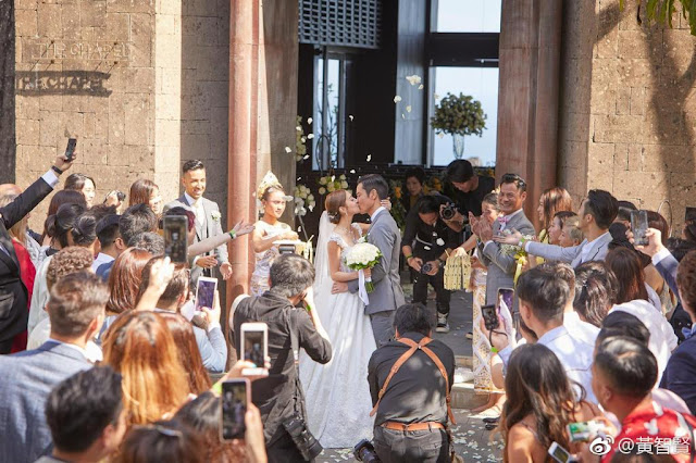 Kevin Cheng Grace Chan wedding Bali