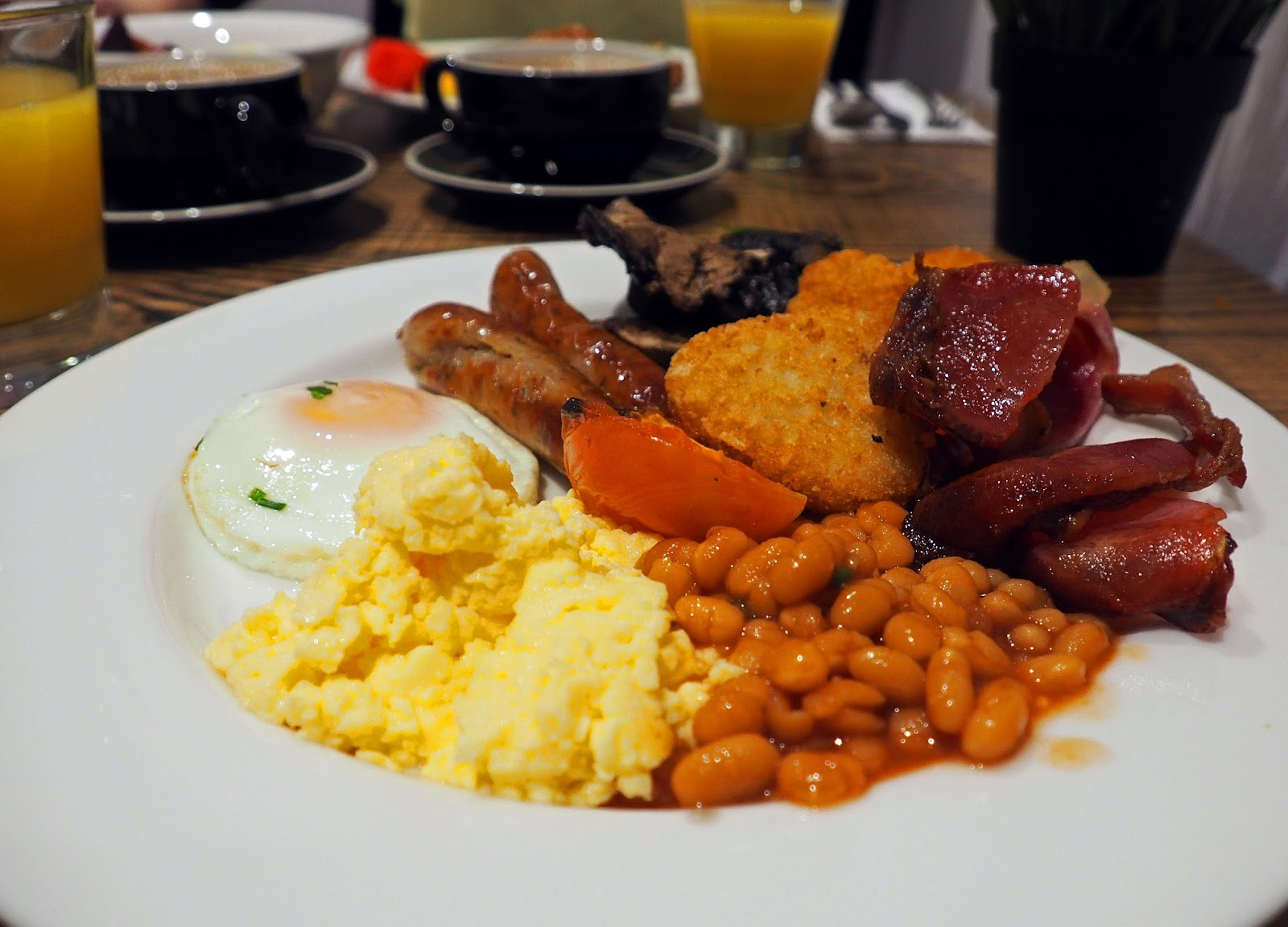 Cooked Breakfast at Rydges Sydney Central