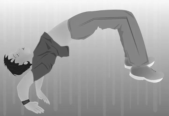 Inilah cara mudah melakukan Gerakan Kip Up (Kick Up)