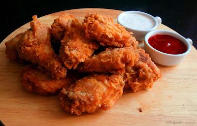 Domowe Hot Wings jak z KFC - Przepis - Słodka Strona