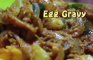 Egg Gravy – South indian authentic non veg recipe