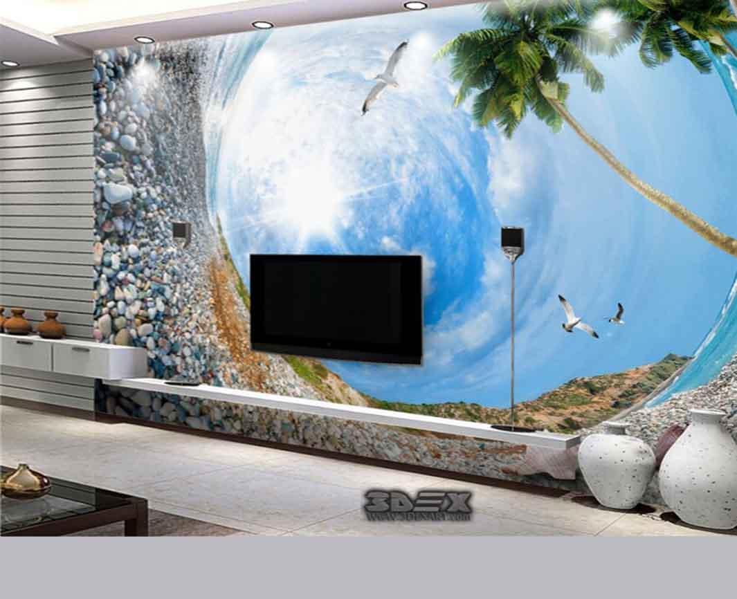 Aquarium Mural Design. Welcome To Kimakdesign. . Aquarium Wall ...