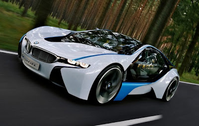 In The Detroit Motorshow This Year Bmw Introduced I8 Concept Prototype That Offers Innovative Plug Hybrid Which Combines Of