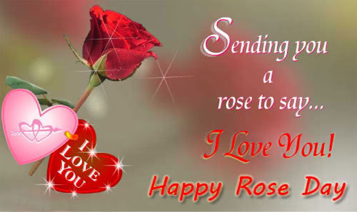 Happy rose Day Greetings with Love